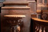 Baptismal font — Stock Photo
