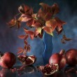 "Stock Photo: Still Life ""Pomegranate"""