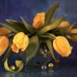 Stock Photo: Still Life with Tulips