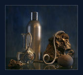 Still Life with twine — Stock Photo