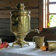 Still Life with a Samovar — Stock Photo