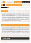 Website navigation elements — Stock Vector