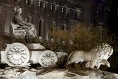 Cibeles Fountain — Stock Photo