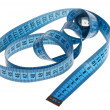Swirl tapemeasure - Stock Photo