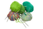 Knitting set — Stock Photo