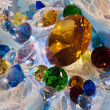 Постер, плакат: Collection of glass gems