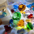 Stock Photo: Collection of glass gems