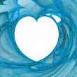 Blue love — Stock Photo #9256308