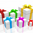Colorful gift boxes — Stock Photo #9256568