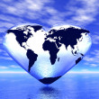 Stock Photo: World in which lives love