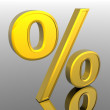 Percent — Stock Photo #9257250