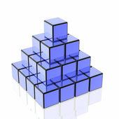 Many cubes — Stock Photo