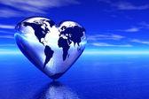I love this world — Stock Photo