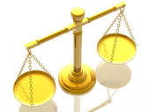 Justices scales — Photo