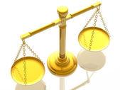 échelles de justices — Photo