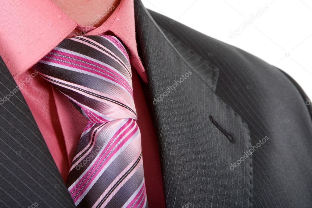Close up businessman tie — Stock Photo #9255761