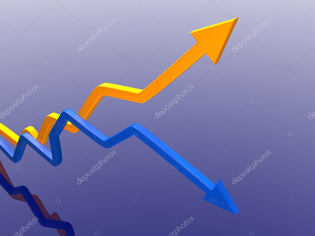Arrows of success  Stock Photo #9256643