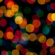 Abstract background with glowing lights - Stockfoto