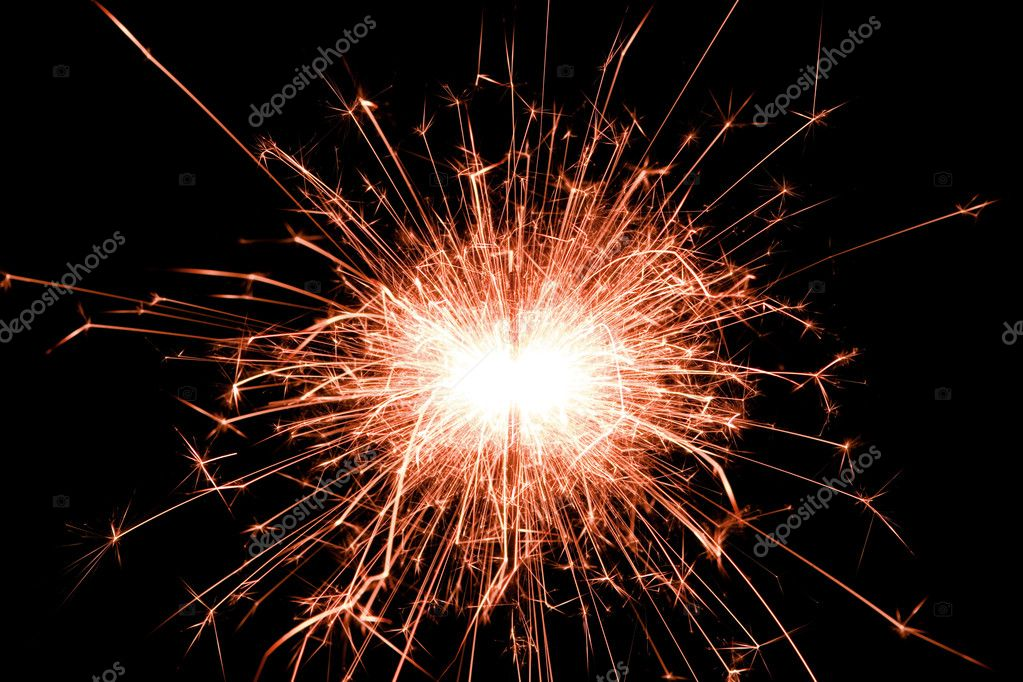 Sparkler — Stock Photo #9429354