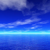 Sea background — Stock Photo