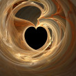 Abstract heart - Stock Photo