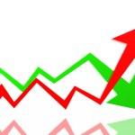 Arrows of success — Stock Photo