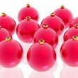 Red christmas decoration — Stock Photo #9759093