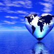 World in which lives love — Stock Photo #9759458