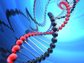 Render of DNA — Stock Photo
