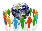 World partnership — Stock Photo