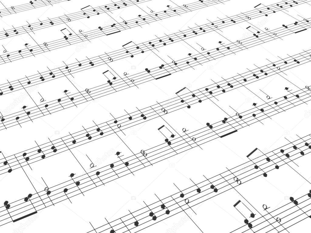 Feuille de musique imprim e photographie suravid 9759816 - Feuille de musique a imprimer ...