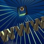 3d World Wide Web internet — Stock Photo