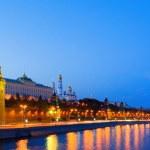 Night city, Moscow — Stock Photo