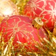 Red christmas decoration — Stock Photo #9866818
