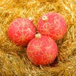 Red christmas decoration — Stock Photo #9866821