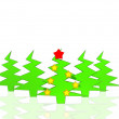 Christmas tree — Foto de Stock