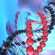 Render of DNA - Stock Photo