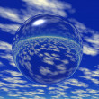 Glass ball - Stock Photo