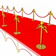 Red carpet — Stock Photo #9868243