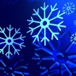 snowflakes background — Stock Photo #9868402