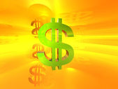 Dollar symbol — Foto de Stock