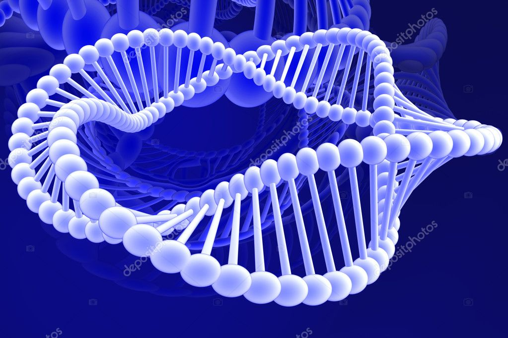 Dna spiral  Stock Photo #9867428