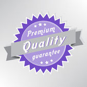 Premium quality purple stamp — Stock Vector