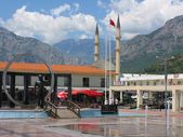 Turkey, Kemer, the central square. — Stock Photo