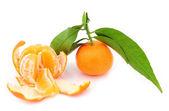 Mandarin background. — Stock Photo