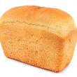 A loaf of white bread. — Stock Photo