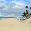 The Dominican Republic. Beach. — Stock Photo