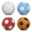 Soccer Balls Collection - Stock Photo