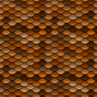 Golden Orange Scales Seamless Pattern — Stockfoto #10149658