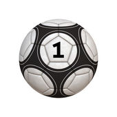 Winner Soccer Ball — Stock Photo